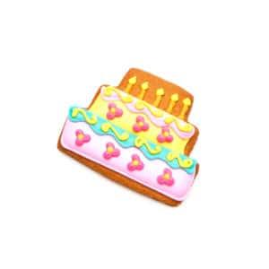 Cookie Card Parabéns - Cartão em forma de Biscoito