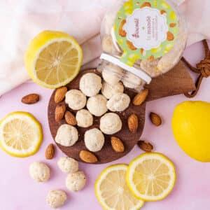 Le Mande – Biscoito com Amêndoas e Limão Siciliano I 200g