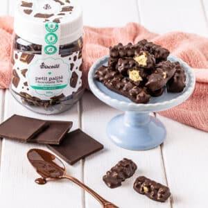 Petit Palité 70% - Biscoito Coberto com Chocolate 70% I 100g