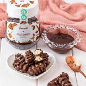 Petit Palité Chocolate – Biscoito Coberto com Chocolate sem Glúten e sem Lactose I 100g
