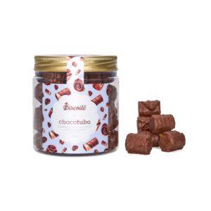Chocotubo – Tubinho de Wafer Coberto com Chocolate I 180g